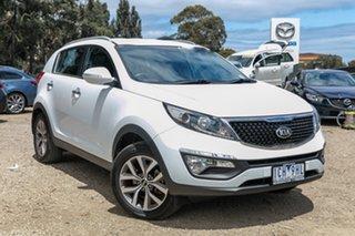 2014 Kia Sportage SL MY14 Si 2WD Premium White 6 Speed Sports Automatic Wagon.