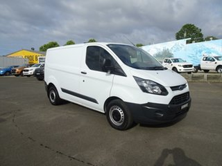 2016 Ford Transit Custom VN 290S Low Roof SWB Frozen White 6 Speed Manual Van.