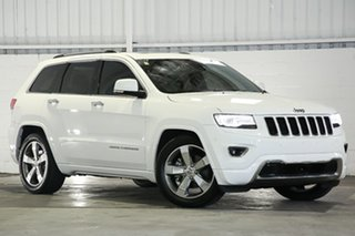 2014 Jeep Grand Cherokee WK MY15 Overland White 8 Speed Sports Automatic Wagon.