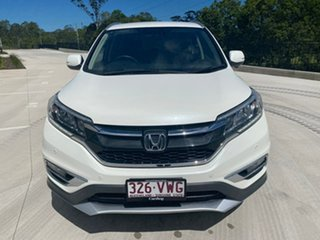 2015 Honda CR-V RM Series II MY16 Limited Edition White 5 Speed Automatic Wagon.
