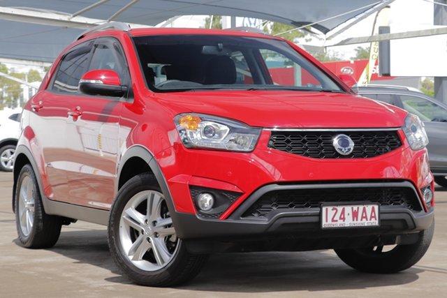 Used Ssangyong Korando C200 MY15 SX 2WD Bundamba, 2015 Ssangyong Korando C200 MY15 SX 2WD Red 6 Speed Automatic Wagon
