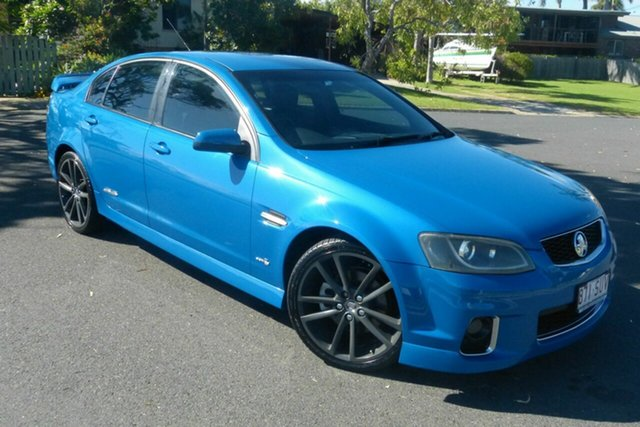 Used Holden Commodore VE II MY12 SS Gladstone, 2011 Holden Commodore VE II MY12 SS Blue 6 Speed Manual Sedan