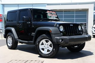 2016 Jeep Wrangler JK MY2016 Sport Black 5 Speed Automatic Softtop.