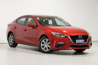 2014 Mazda 3 BM Neo Red 6 Speed Manual Sedan.