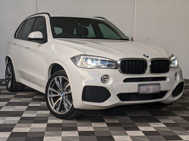 Used BMW X5 F15 xDrive30d Victoria Park, 2016 BMW X5 F15 xDrive30d White 8 Speed Sports Automatic Wagon