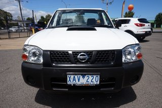 2008 Nissan Navara D22 MY2008 DX 4x2 White 5 Speed Manual Cab Chassis