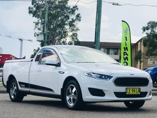 2015 Ford Falcon FG X Ute Super Cab White 6 Speed Sports Automatic Utility