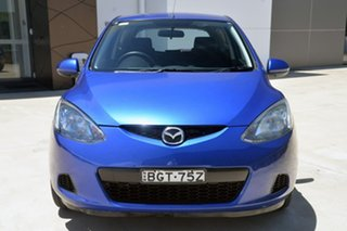 2008 Mazda 2 DE10Y1 Neo Blue 4 Speed Automatic Hatchback