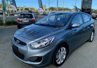 2019 Hyundai Accent RB6 MY19 Sport Lake Silver 6 Speed Manual Hatchback.