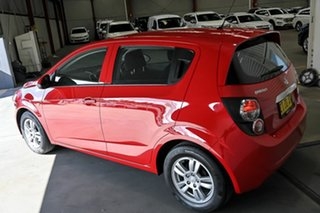 2016 Holden Barina TM MY16 CD Red 6 Speed Automatic Hatchback