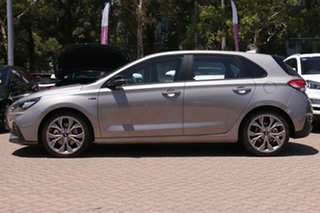 2020 Hyundai i30 PD.V4 MY21 N Line Fluidic Metal 7 Speed Auto Dual Clutch Hatchback