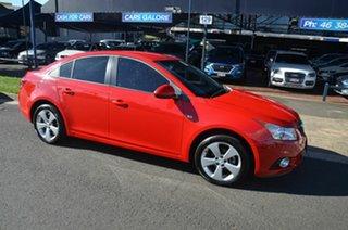 2014 Holden Cruze JH MY14 Equipe Red 6 Speed Automatic Sedan.