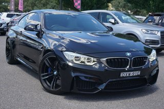 2015 BMW M4 F82 M-DCT Black 7 Speed Sports Automatic Dual Clutch Coupe.