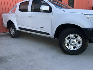 2012 Holden Colorado RG MY13 LX Crew Cab White 5 Speed Manual Utility