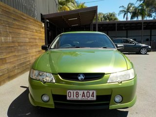 2002 Holden Ute VY S Green 4 Speed Automatic Utility