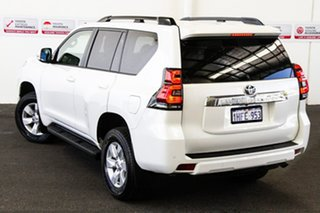 2019 Toyota Landcruiser Prado GDJ150R GXL Glacier White 6 Speed Sports Automatic Wagon.