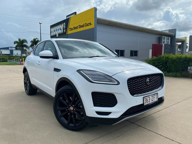Used Jaguar E-PACE X540 19MY Standard SE Townsville, 2019 Jaguar E-PACE X540 19MY Standard SE White 9 Speed Sports Automatic Wagon