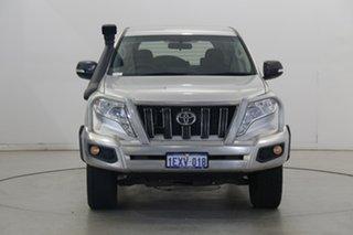 2015 Toyota Landcruiser Prado GDJ150R GX Silver 6 Speed Sports Automatic Wagon.