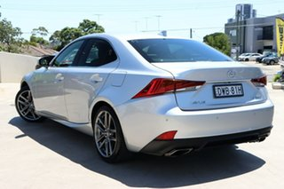 2018 Lexus IS GSE31R IS350 F Sport Silver 8 Speed Sports Automatic Sedan