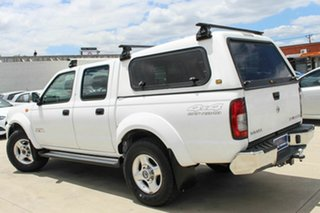 2013 Nissan Navara D22 S5 ST-R White 5 Speed Manual Utility