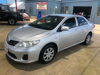 2011 Toyota Corolla ZRE152R MY11 Ascent Silver 6 Speed Manual Sedan.