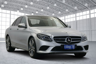 2018 Mercedes-Benz C-Class W205 808MY C300 9G-Tronic Silver 9 Speed Sports Automatic Sedan.