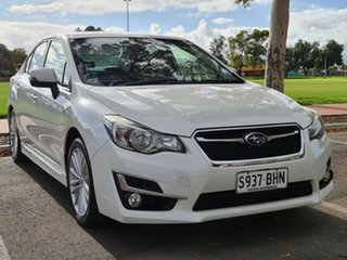 2015 Subaru Impreza G4 MY14 2.0i-S Lineartronic AWD White 6 Speed Constant Variable Sedan