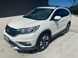 2015 Honda CR-V RM Series II MY16 Limited Edition White 5 Speed Automatic Wagon