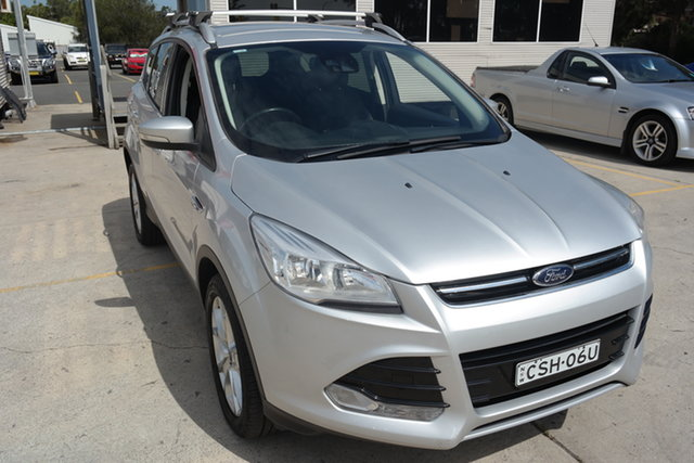 Used Ford Kuga TE Trend AWD Maryville, 2013 Ford Kuga TE Trend AWD Silver 5 Speed Sports Automatic Wagon