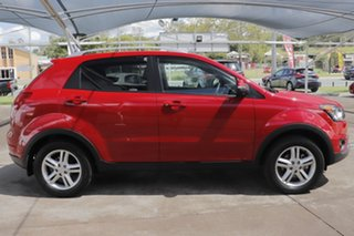 2015 Ssangyong Korando C200 MY15 SX 2WD Red 6 Speed Automatic Wagon.