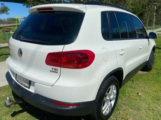 2013 Volkswagen Tiguan 5N MY13.5 118TSI 2WD White 6 Speed Manual Wagon