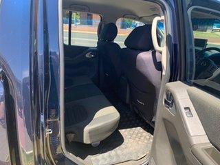 2013 Nissan Navara D40 ST (4x4) Blue 5 Speed Automatic Dual Cab
