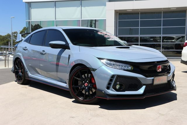 Used Honda Civic 10th Gen MY17 Type R Liverpool, 2017 Honda Civic 10th Gen MY17 Type R Sonic Grey 6 Speed Manual Hatchback