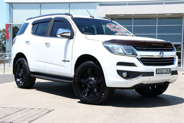 Used Holden Trailblazer RG MY18 LTZ Liverpool, 2017 Holden Trailblazer RG MY18 LTZ White 6 Speed Sports Automatic Wagon