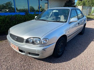 2001 Toyota Corolla AE112R Ascent Silver 4 Speed Automatic Sedan.