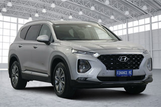 2019 Hyundai Santa Fe TM.2 MY20 Elite Typhoon Silver 8 Speed Sports Automatic Wagon.