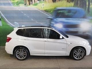 2016 BMW X3 F25 MY16 xDrive30d White 8 Speed Automatic Wagon.