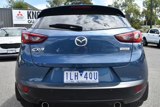 2017 Mazda CX-3 DK4W7A Akari SKYACTIV-Drive i-ACTIV AWD Blue 6 Speed Sports Automatic Wagon.