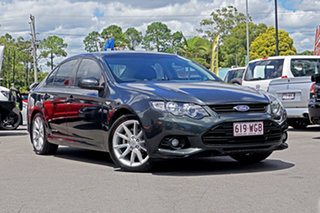 2013 Ford Falcon FG MkII XR6 Grey 6 Speed Manual Sedan.