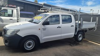2011 Toyota Hilux TGN16R MY11 Upgrade Workmate 5 Speed Manual Dual Cab Pick-up