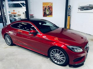 2016 Mercedes-Benz C-Class C205 C300 7G-Tronic + Red 7 Speed Sports Automatic Coupe
