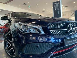 2017 Mercedes-Benz CLA-Class C117 807MY CLA250 DCT 4MATIC Sport Blue 7 Speed.