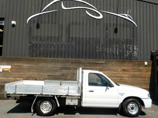 2006 Mazda Bravo B2500 DX 4x2 White 5 Speed Manual Cab Chassis.