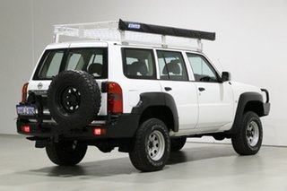 2009 Nissan Patrol GU VI DX (4x4) White 4 Speed Automatic Wagon