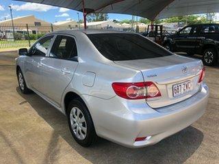 2011 Toyota Corolla ZRE152R MY11 Ascent Silver 6 Speed Manual Sedan.