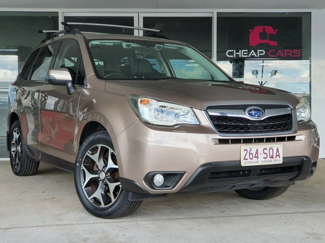 Used Subaru Forester S4 MY13 2.5i-S Lineartronic AWD Brendale, 2012 Subaru Forester S4 MY13 2.5i-S Lineartronic AWD Bronze 6 Speed Constant Variable Wagon