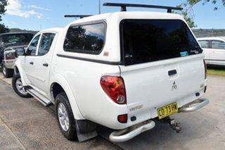 2015 Mitsubishi Triton MN MY15 GLX Double Cab 4x2 White 5 Speed Manual Utility.