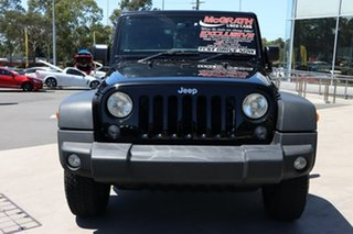 2016 Jeep Wrangler JK MY2016 Sport Black 5 Speed Automatic Softtop