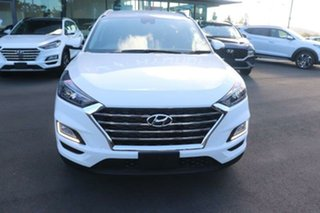 2020 Hyundai Tucson TL3 MY21 Elite D-CT AWD Pure White 7 Speed Sports Automatic Dual Clutch Wagon.