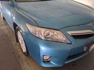 2010 Toyota Camry AHV40R MY10 Hybrid Blue 1 Speed Constant Variable Sedan Hybrid.